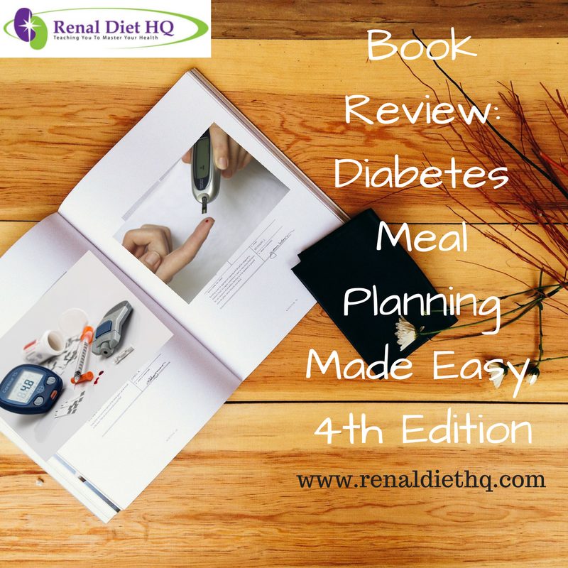 Book Review: Diabetes Meal Planning Made Easy, 4th Edition
