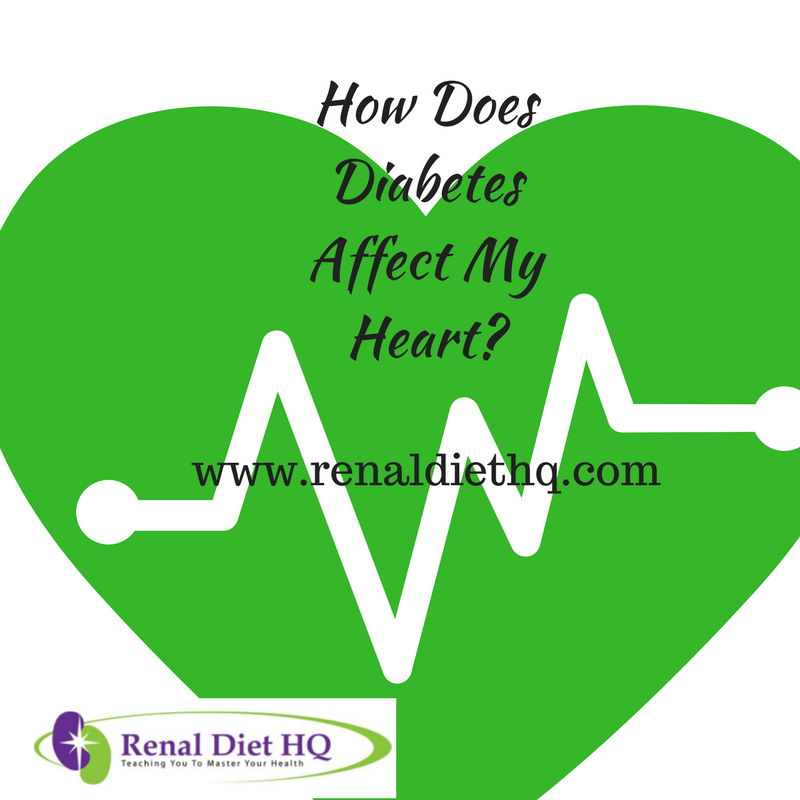How Does Diabetes Affect My Heart?