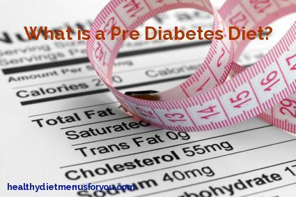 prediabetic diet plan