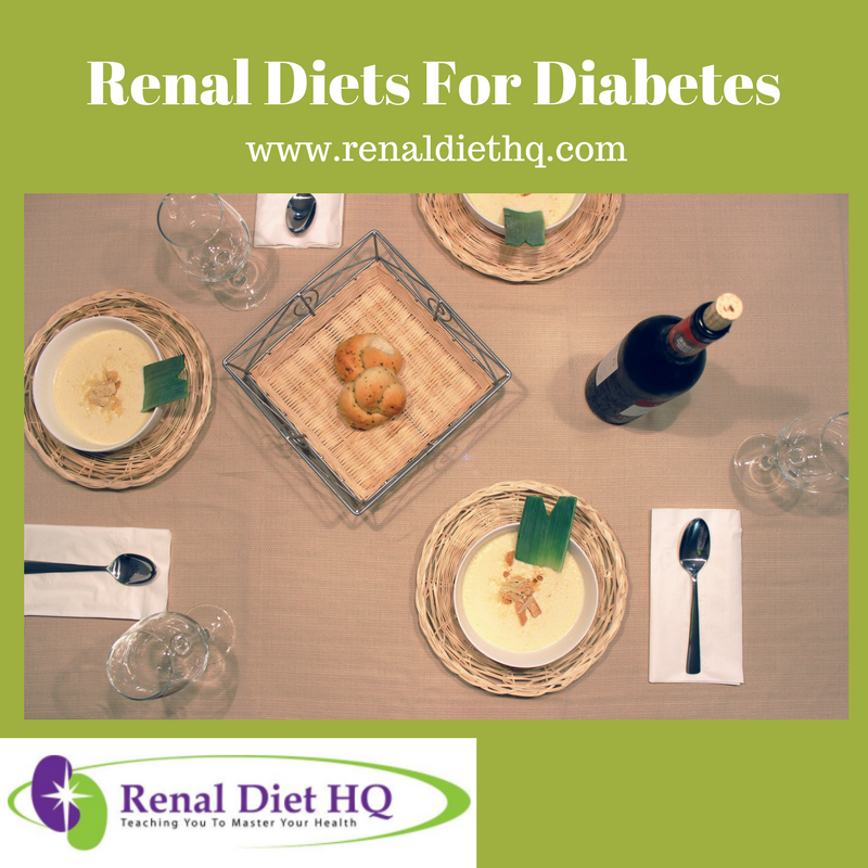 Renal Diets For Diabetes