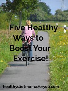 increase exercise