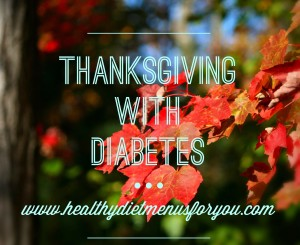 thanksgiving with diabetes