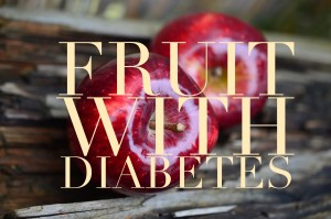 fruit with diabetes