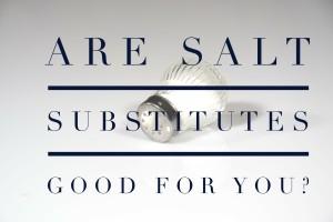 salt substitiutes