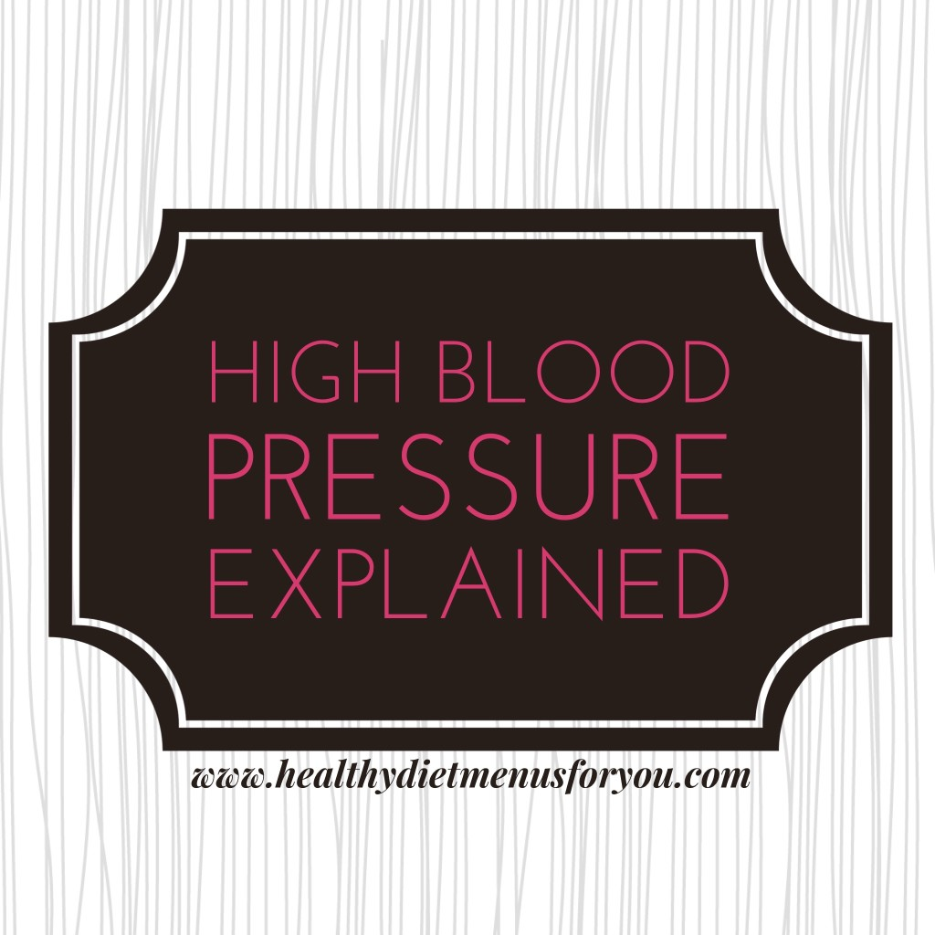 High Blood Pressure Explained