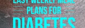 weekly meal plan diabetes