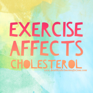 exercise affects cholesterol